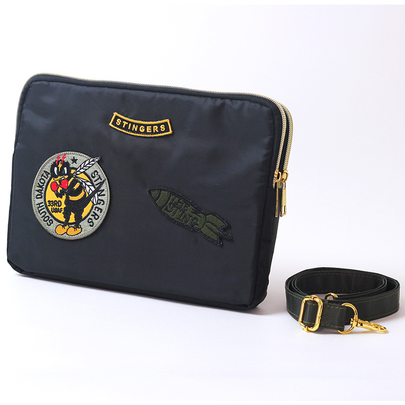 Squadron Double Zipper Bag