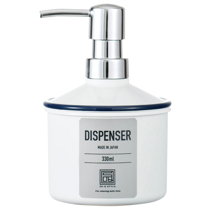 Urban modern  form soap dispenser 330ml