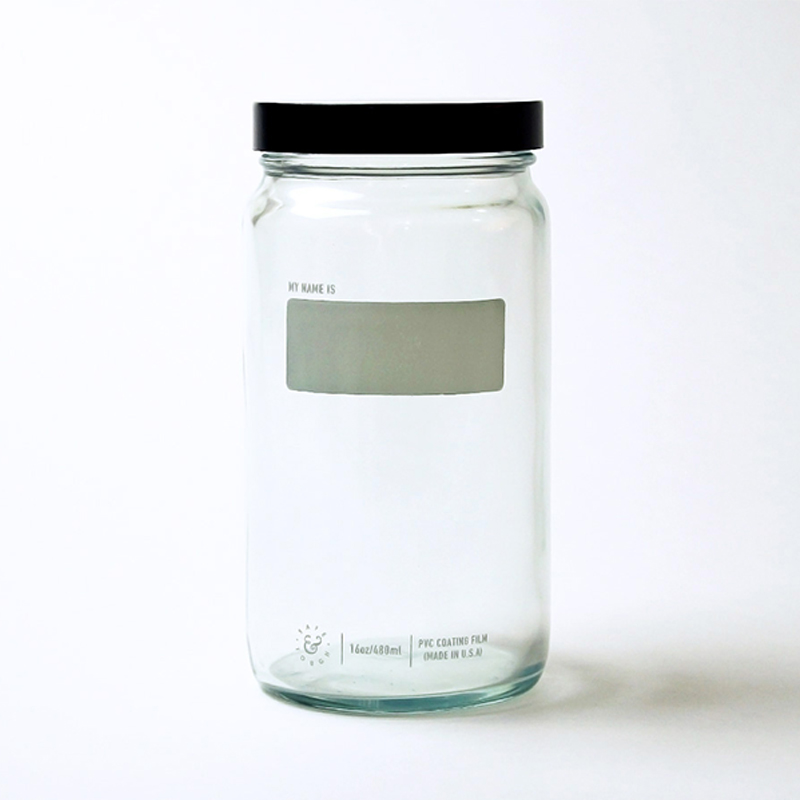 Boston Round Jar (480 ml.)