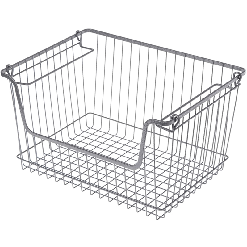 Stacs wire storage open basket L