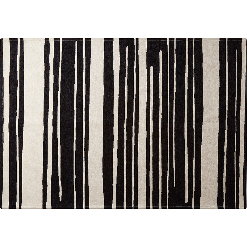 Organic hand drawing rug_stripe (L)