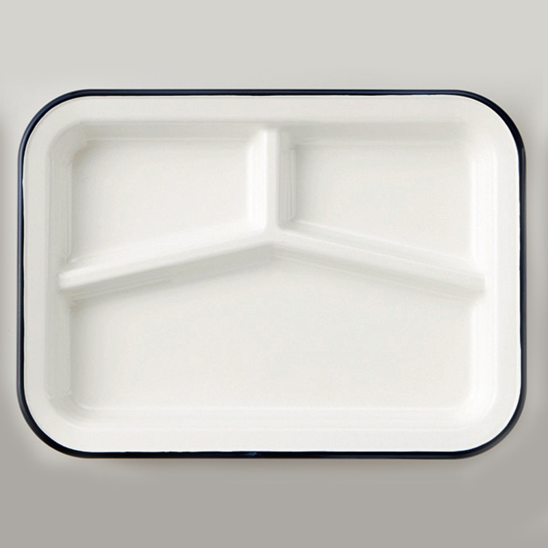 Retro Moda Lunch Plate (Navy)